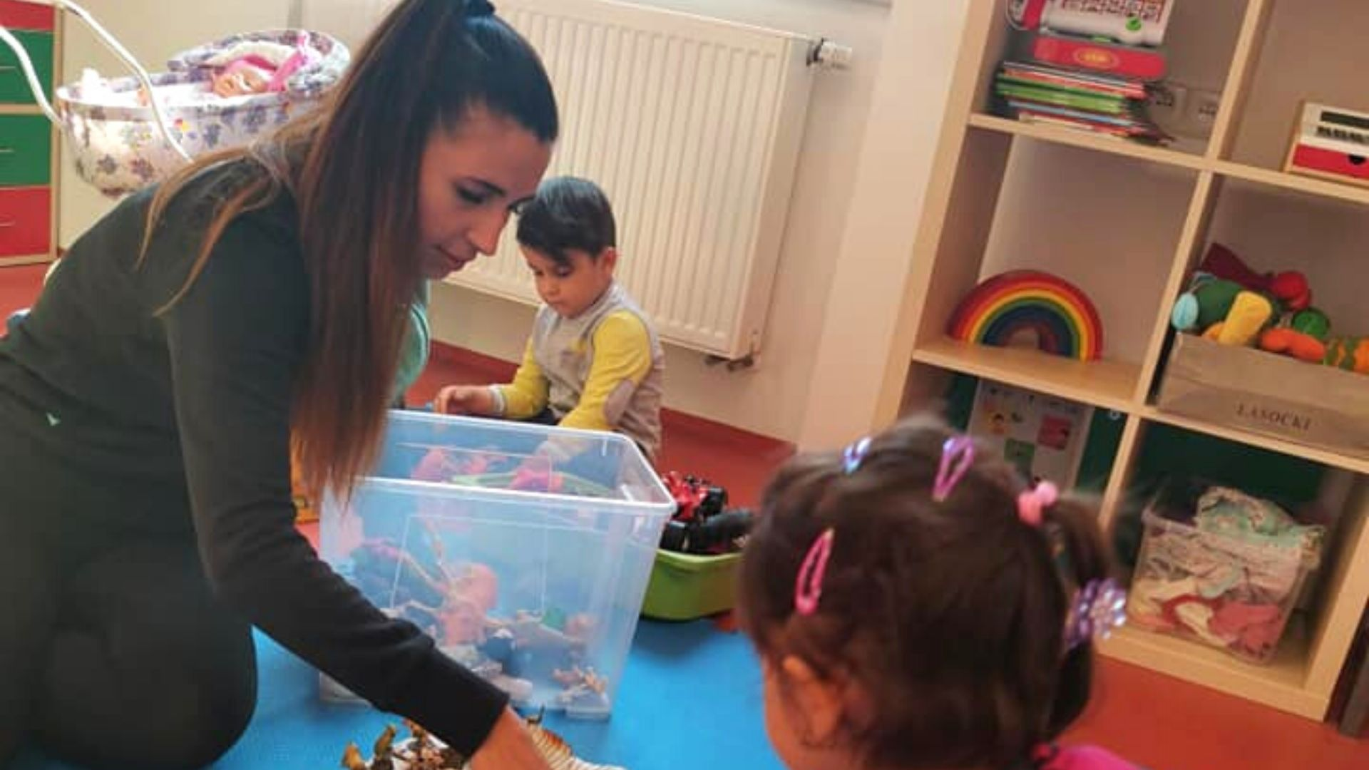 Asistent centra pro rodiče s dětmi