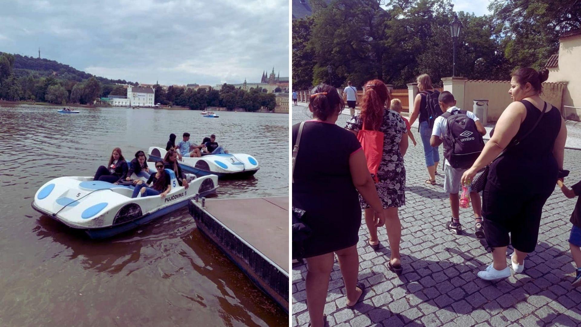 Výlet komunity do Prahy, nejen za památkami